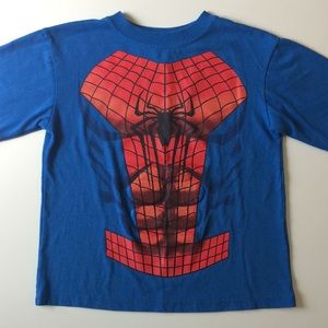 🐸Spider-Man with raised Abdominal muscles T-Shirt